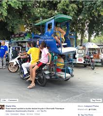 philippine tricycle png only in the philippines a double decker tricycle when in manila
