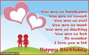 birthday card messages for boyfriend birthday poems for boyfriend