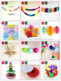 New Year Paper Decorations by Chinese New Year Gifts Handmade Paper Ball Christmas Decorations