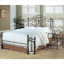 Iron And Wood Headboards Beautiful Iron Headboards Queen Size 41 For Wooden Headboard With