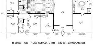 5 Bedroom Mobile Home Floor Plans 26 Simple Double Wide Trailer Size Ideas Photo Kelsey Bass Ranch