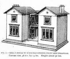 dolls house designs from the woodworker 1917 1970 by rebecca