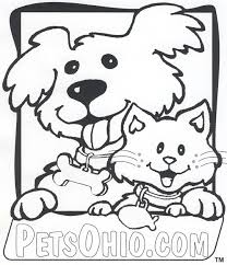 picture cats dogs coloring pages 29 additional free