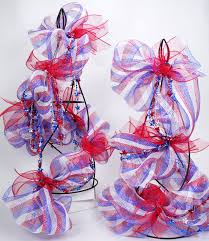 White Deco Mesh Party Ideas By Mardi Gras Outlet How To Red White And Blue Star