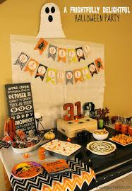 halloween ideas food party a frightfully delightful halloween party with festive halloween