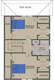 aspen cottage at rye meadows in south burlington vermont family aspen cottage second floor plan