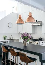 Copper Pendant Lights Kitchen Breathtaking Copper Pendant Light Kitchen Large Size Of Pendant