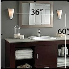 a lesson in bathroom lighting lights house and face