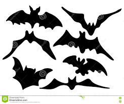 creepy cool halloween background halloween creepy scary bat silhouette vector symbol icon design