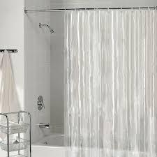 Hookless Shower Curtain Walmart Bathroom Hookless Shower Curtain With Snap Liner Fabric