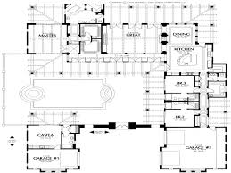 courtyard house plan baby nursery modern spanish house plans house plans center