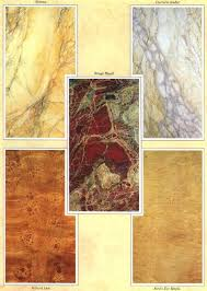 Marble Faux Painting Techniques - faux paintings by bill holgate he was possibly the finest grainer