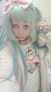 Gothic Halloween Makeup Ideas Anime Art Cosplay Fashion Girls Hair Ideas Halloween Kawaii