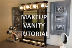 Vanity Makeup Diy How To Make A Vanity Makeup Mirror At Home Youtube