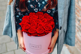 forever roses fresh roses for eternity with the grace flowerbox u0026 they don u0027t