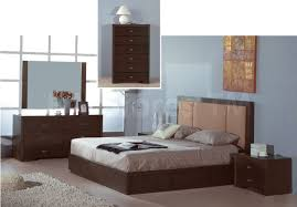 Wenge Bedroom Furniture Atlas Wenge Finished Storage Bed With Taupe Knit Fabric Headboar