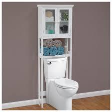Bathroom Storage Behind Toilet Decoration Ideas Bathroom Over The Toilet Storage Cabinets Small