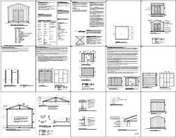 Free Plans For Building A Wood Shed by Shed Plans 12 12 Anyone Can Build A Shed Cool Shed Design
