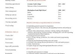 how to make a resume with no work experience example of a resume