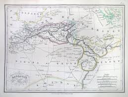 Map Of North Africa by File 1833 Malte Brun Map Of North Africa Or Barbary Geographicus
