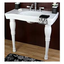 kingston brass console sink kingston brass imperial ceramic 37 console bathroom sink with