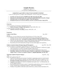 Biology Resume Template A Good Template For Military Resumes