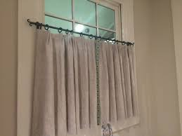Western Curtain Rod Holders by Cafe Curtain Rod Cafe Iron Rod Forged Iron Cafe Curtain Rod