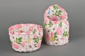 madeheart u003e handmade basket designer wicker basket home decor
