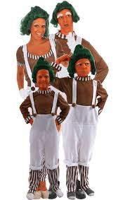 oompa loompa costume oompa loompa family costumes jokers masquerade