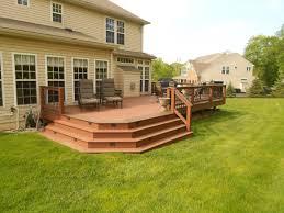 deck stair width radnor decoration
