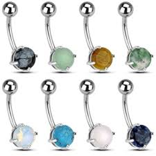 about belly rings images Natural stone belly ring jpg