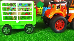 garbage trucks for kids surprise tractors for children tractor videos for children kids toddlers