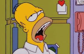 Drooling Meme - homer drooling reaction images know your meme