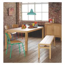 6 Seat Kitchen Table by Radius 6 Seat Oak Dining Table Oak Dining Table Dining Bench