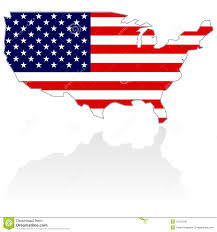 Images Of The Map Of The United States by Amazoncom Usa United States Of America American Map Flag Sticker