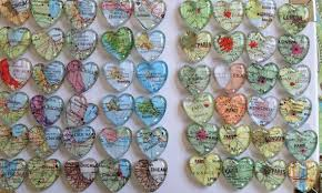 destination wedding favors wedding favors magnets 100 individually wrapped favors and map