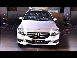 limited edition mercedes mercedes e class limited edition launched in india price