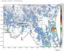 Map Of Jacksonville Fl Jacksonville Fla Experiencing Severe Storm Weather Conditions