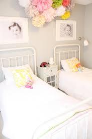 suzie daffodil design girls u0027 bedroom with gray walls paint