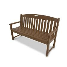 Lowes Garden Variety Outdoor Bench Plans by Shop Trex Outdoor Furniture Yacht Club 59 5 In W X 24 25 In L Tree