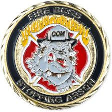 By Challenge Firefighter Challenge Coins Custom Coins For Departments