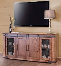 tv stand glass door annie oakley u0027s wood furniture