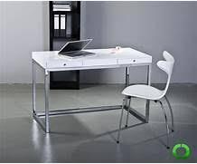 designer schreibtisch wei gallery of designer schreibtisch bizline weiss hochglanz 120cm neu