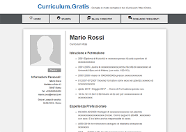 curriculum vitae formato pdf da compilare curriculum vitae curriculum vitae online