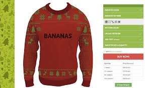 finally you can customize an ugly christmas sweater your very own