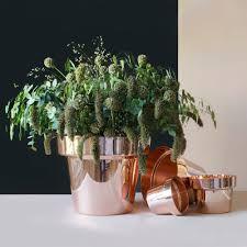Copper Flower Vase Flower Pot Copper Monica Förster Skultuna Suite Ny