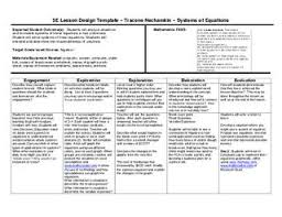 5e lesson plan systems of equations by wylie east high issuu