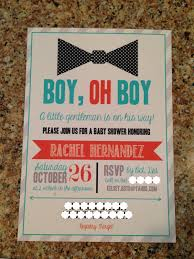 the boyd family bow tie baby shower