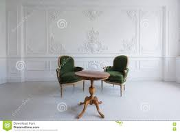 Interior Stucco Wall Designs by Luxury Clean Bright White Interior With A Old Antique Vintage