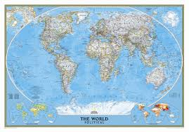 National Geographic Map National Geographic Maps World Classic Wall Map U0026 Reviews Wayfair